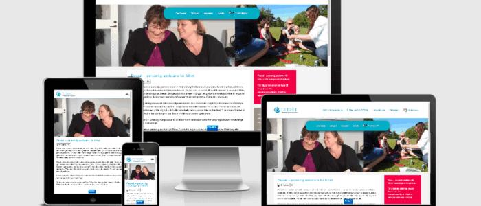 Webbplats till Passal