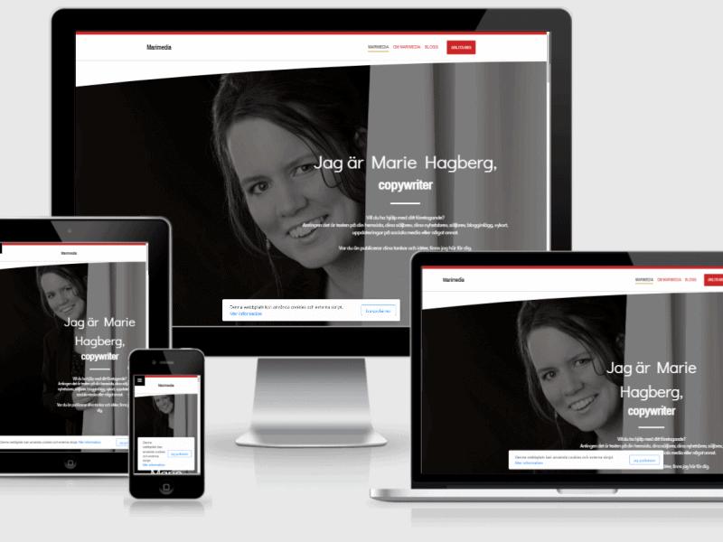 Marimedia.se, en webbsida från KoBoToLo