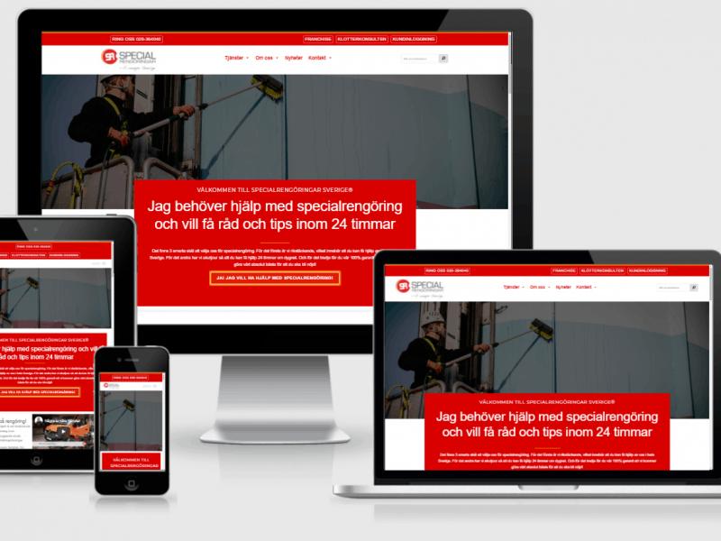 Specialrengoringar.se, en webbsida från KoBoToLo